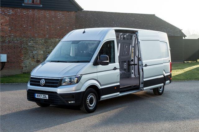 Volkswagen Crafter 2017 - Van Review   Honest John