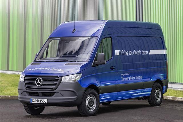 c476ccb12e Mercedes-Benz eSprinter 2019 - Van Review