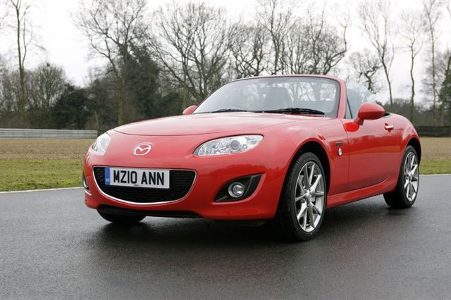 Mazda MX-5 NC Original Exhaust Trim from 2005