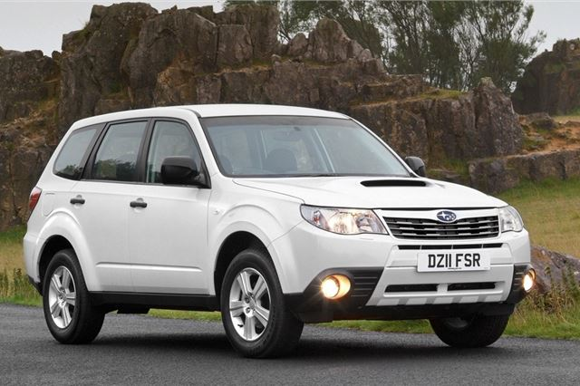 Subaru Forester 2008 - Car Review | Honest John