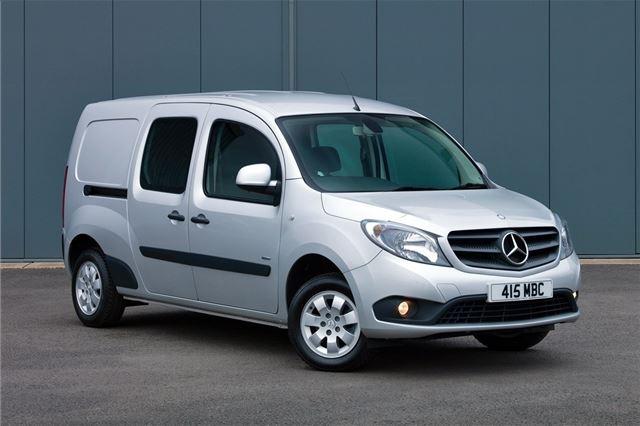 c7948bded4a954 Mercedes-Benz Citan 2013 - Van Review