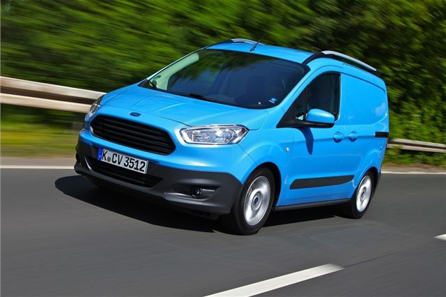 e003813951 Ford Transit Courier 2014 - Van Review