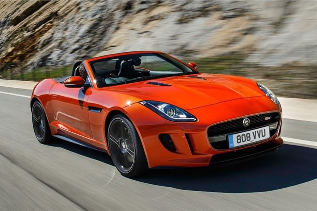 jaguar f-type convertible 2013 - car review - specifications