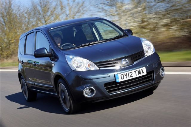 nissan note 2006 safety rating