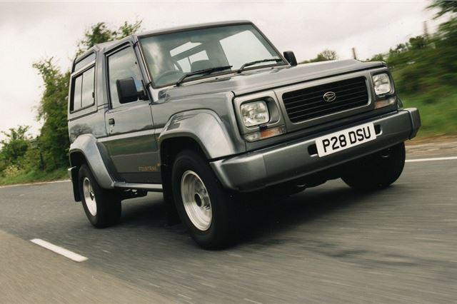 Daihatsu Fourtrak 1985 - Car Review   Honest John