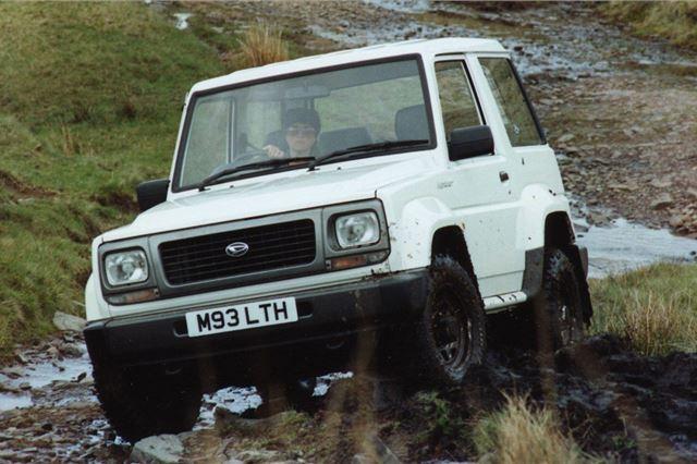 Daihatsu Fourtrak 1985 - Car Review | Honest John