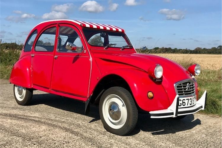 Citroen 2cv Classic Cars For Sale Honest John