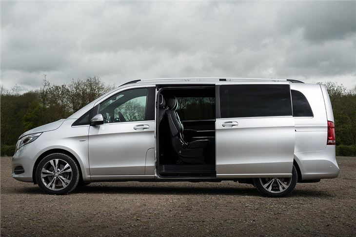 Mercedes benz v class 2015 van review honest john for Mercedes benz van 2015