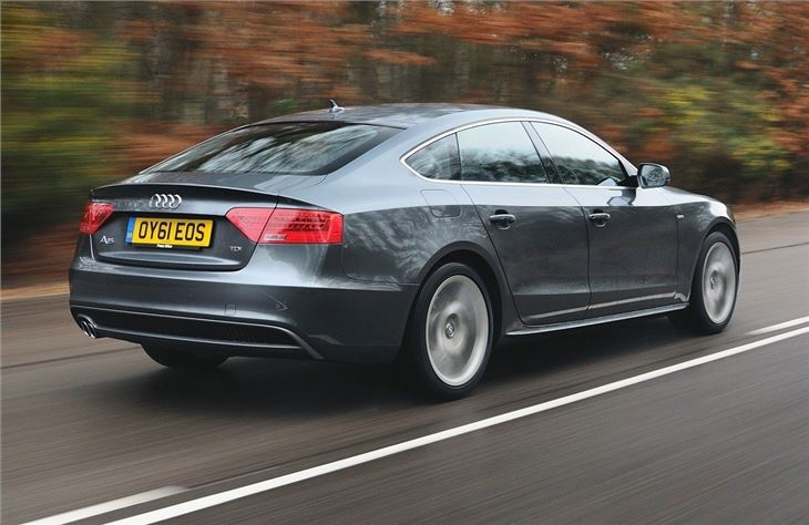 Audi a5 coupe 20 tdi se review
