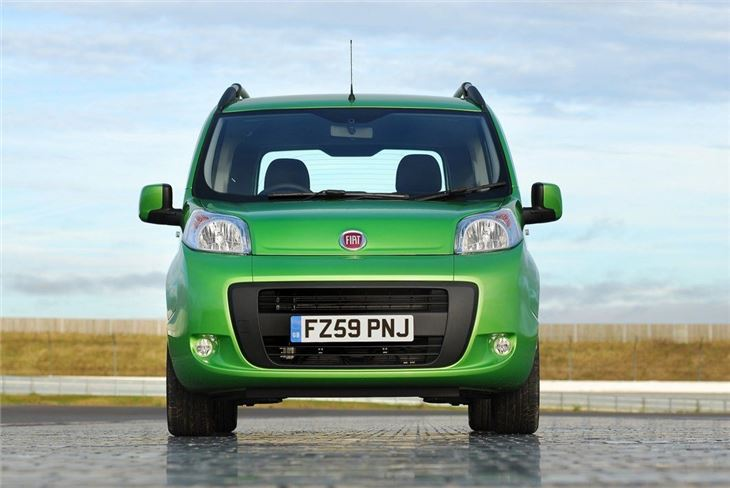 Fiat Qubo 2009 - Van Review | Honest John Fiat Qubo Sel on