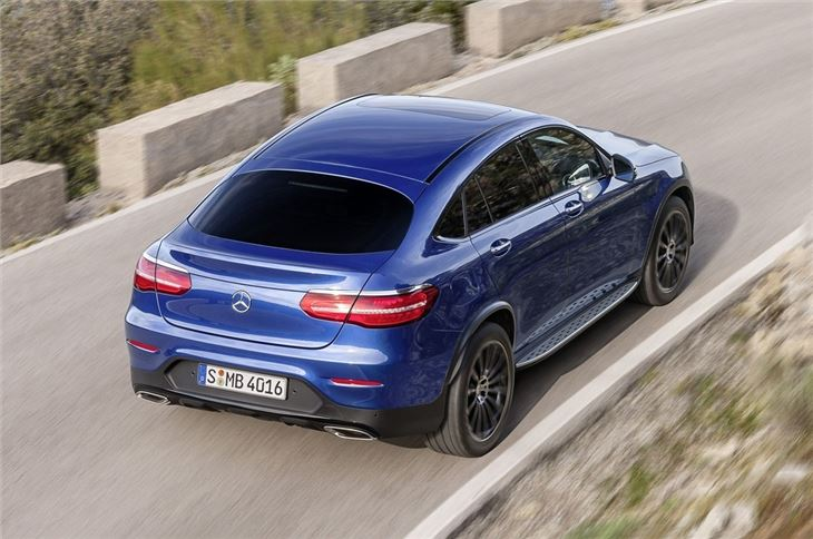 Mercedes Benz Glc Coupe 2016 Car Review Honest John