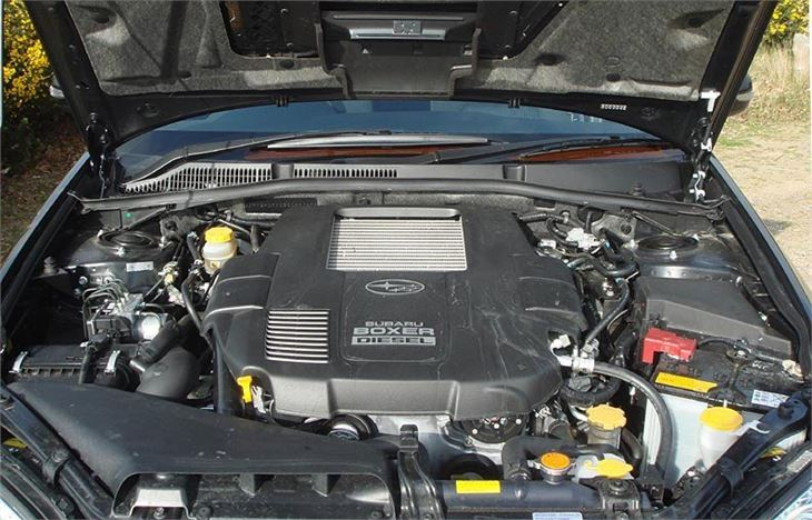 Old Fashioned Cars >> Subaru Legacy and Outback Diesel 2008 - Car Review ...