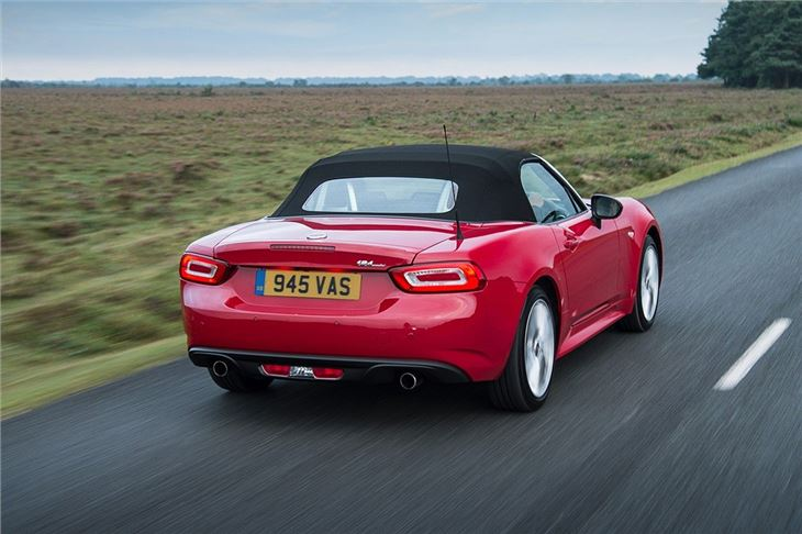 Fiat 124 Spider 2016 Car Review Honest John