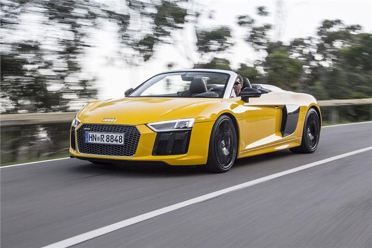 audi r8 spyder 2016 road test road tests honest john