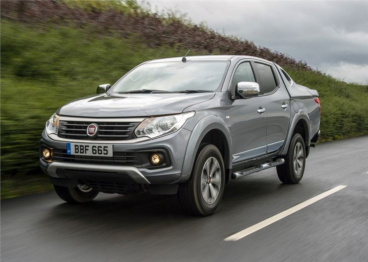 Fiat Fullback 2016 Van Review Honest John