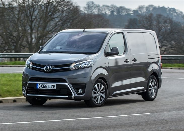 toyota proace 2016 van review honest john