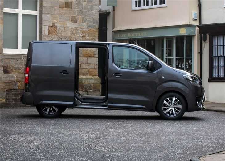 toyota proace  van review honest john