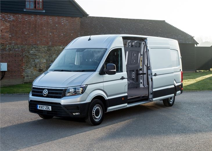 volkswagen crafter 2017 van review honest john. Black Bedroom Furniture Sets. Home Design Ideas