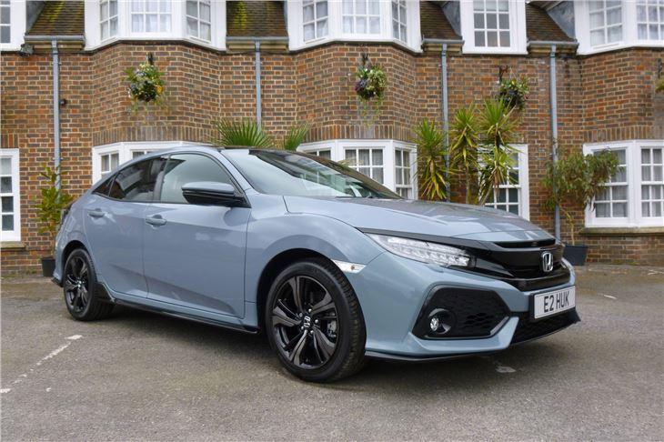 Honda Civic F Grey