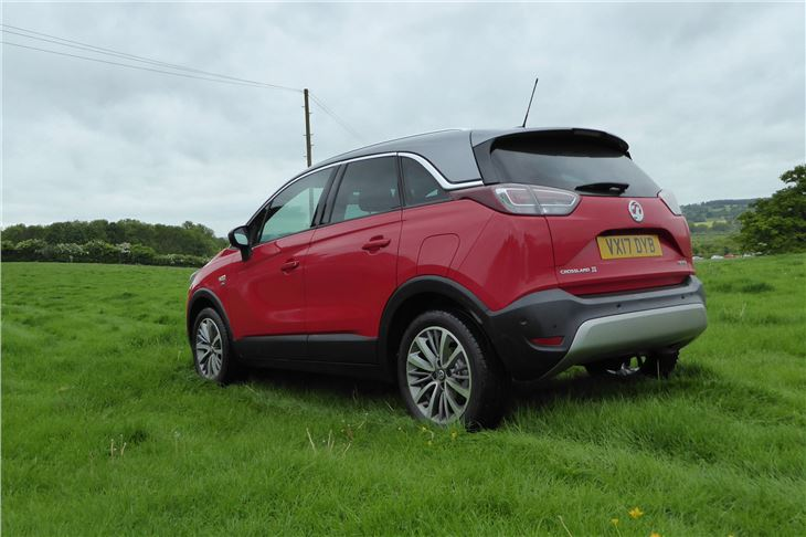 vauxhall crossland x 2017 road test road tests honest john. Black Bedroom Furniture Sets. Home Design Ideas