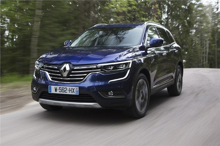 renault koleos 1 6 dci 130 2017 road test road tests honest john. Black Bedroom Furniture Sets. Home Design Ideas