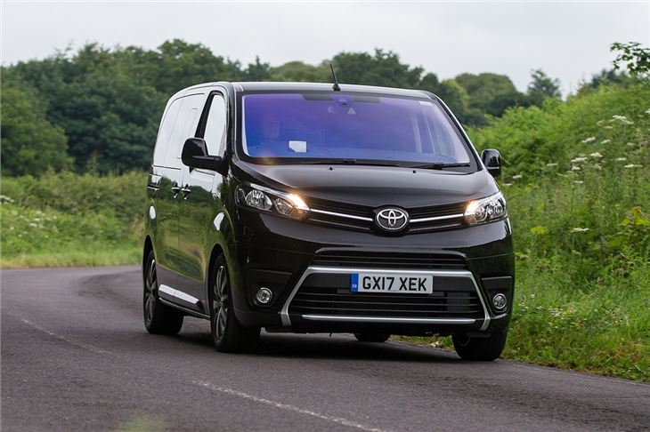 Toyota Proace Verso Van Review Honest John