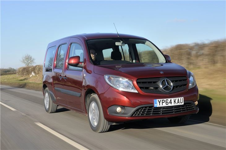 mercedes benz citan tourer 2015 van review honest john. Black Bedroom Furniture Sets. Home Design Ideas