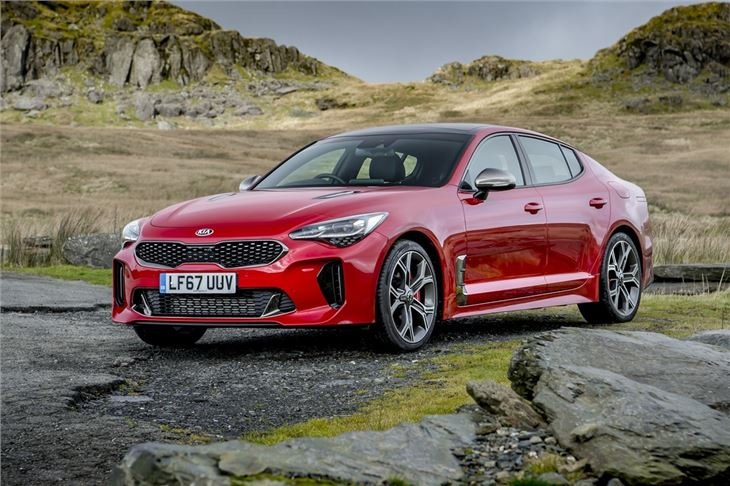 kia stinger 2018 car review honest john. Black Bedroom Furniture Sets. Home Design Ideas