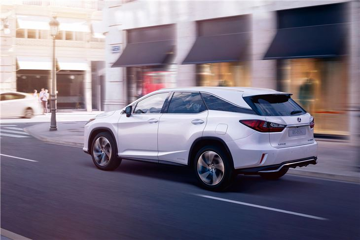 review of japanese slice sized cars lexus an hybrid suv futurism reviews image rx