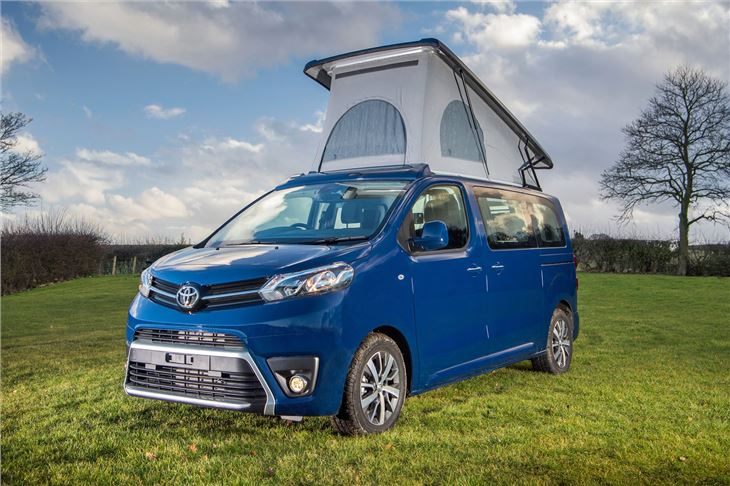 Toyota ProAce Camper 2018 - Van Review | Honest John