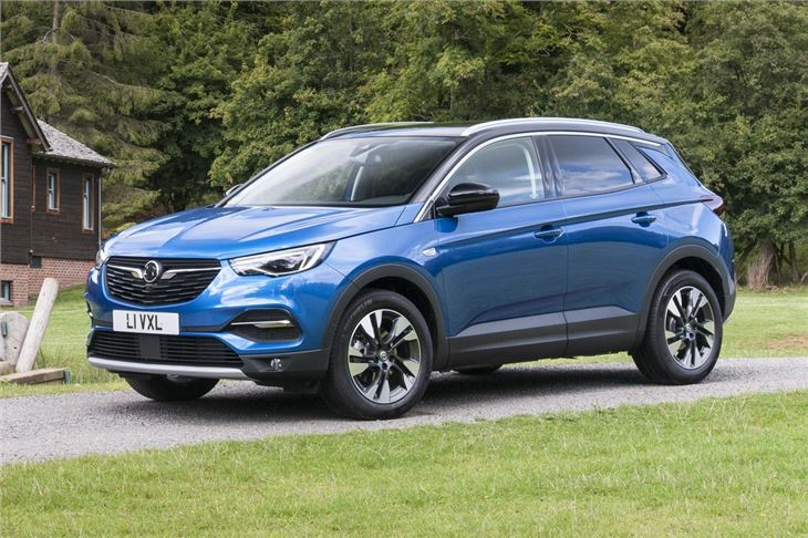 vauxhall grandland x 2018 car review honest john. Black Bedroom Furniture Sets. Home Design Ideas