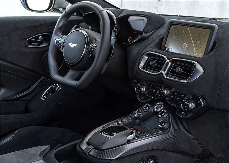 aston martin vantage  car review interior honest john