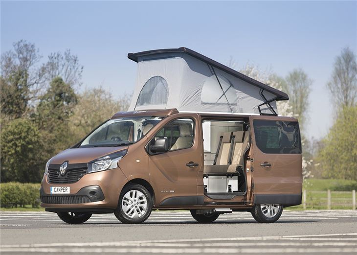 renault trafic esterela 2018 van review honest john. Black Bedroom Furniture Sets. Home Design Ideas