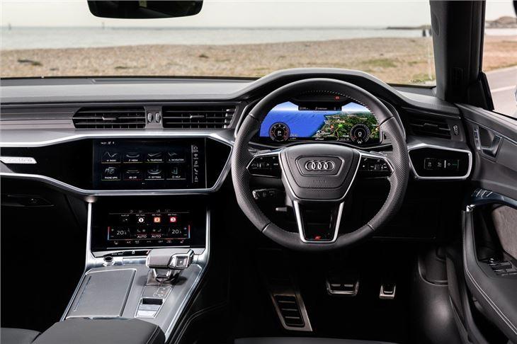 Audi A7 Sportback 2018 Car Review Interior Honest John