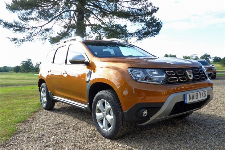 Dacia duster 2018 road test road tests honest john for Dacia duster specifications