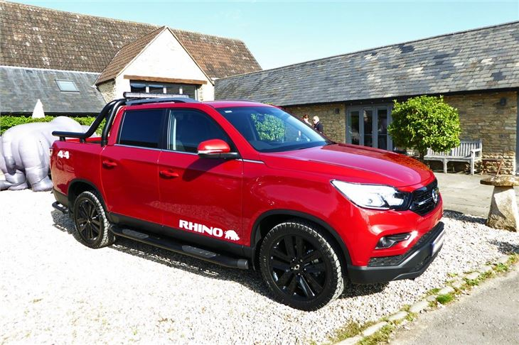 Toyota Rav4 Towing Capacity >> SsangYong Musso 2018 Road Test | Road Tests | Honest John