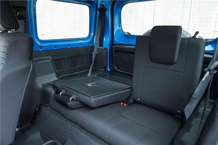 suzuki jimny 2019 car review honest john. Black Bedroom Furniture Sets. Home Design Ideas