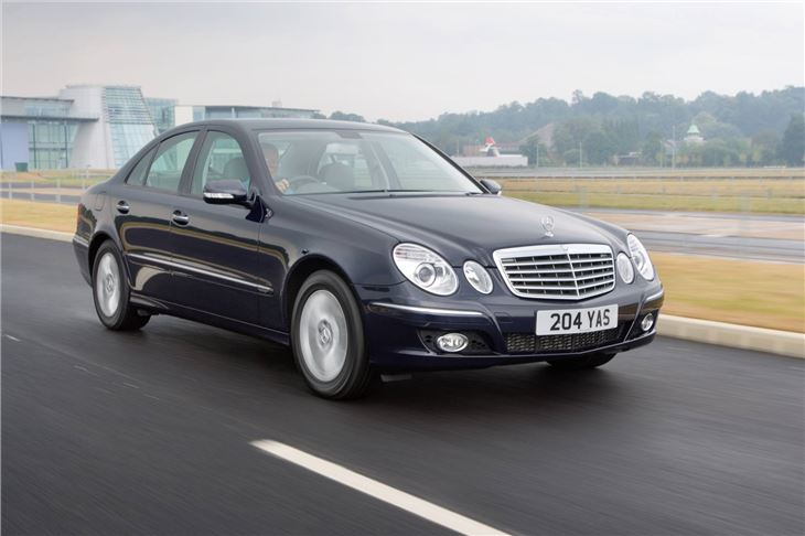 Mercedes benz e class w211 2002 car review honest john for Mercedes benz reliability ratings