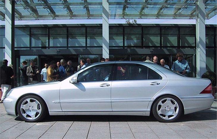 mercedes s600 v12 2001