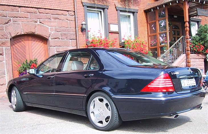 Mercedes Benz S Class W220 2001 Road Test Road Tests