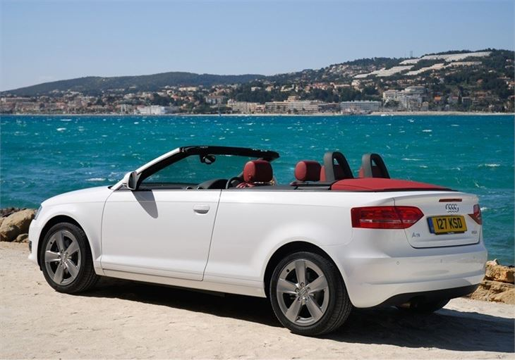 Audi A Cabriolet Car Review Honest John - Audi a3 convertible