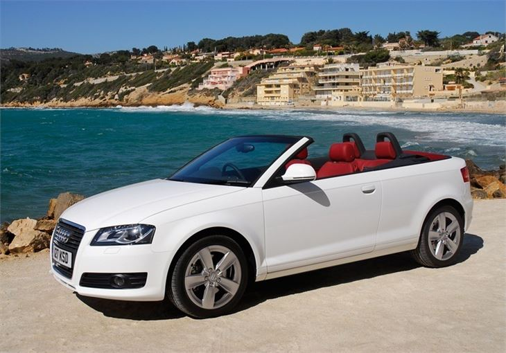 audi a3 cabriolet 2008 car review honest john. Black Bedroom Furniture Sets. Home Design Ideas