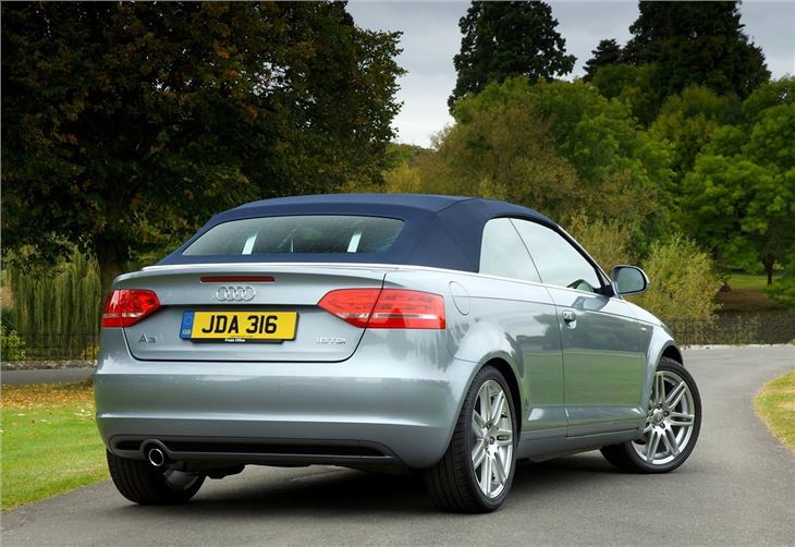 audi a3 cabriolet 2008 - car review | honest john