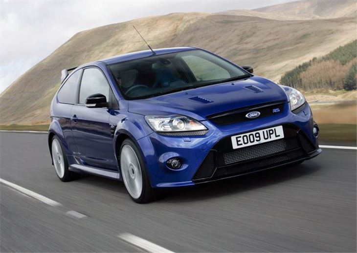ford focus rs 2009 car review honest john. Black Bedroom Furniture Sets. Home Design Ideas