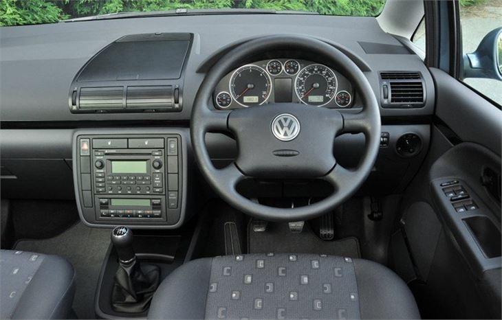 Volkswagen Sharan 1995 Car Review Honest John
