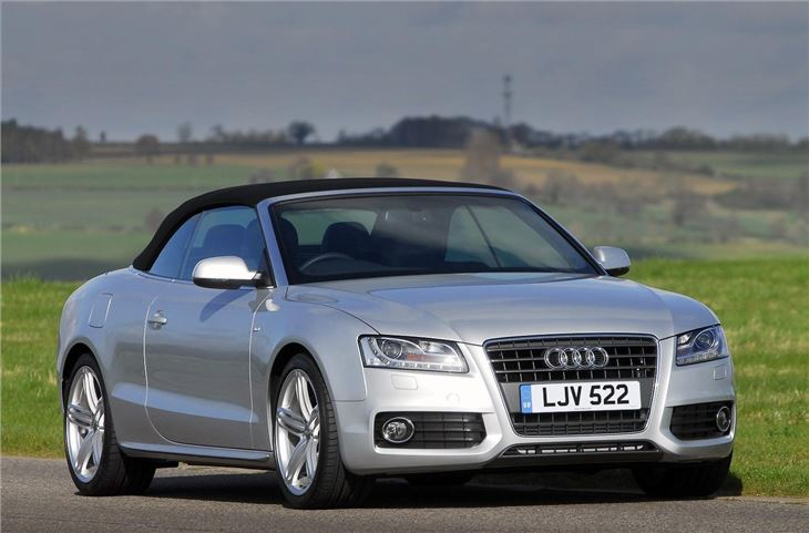 audi a5 cabriolet 2009 car review honest john. Black Bedroom Furniture Sets. Home Design Ideas