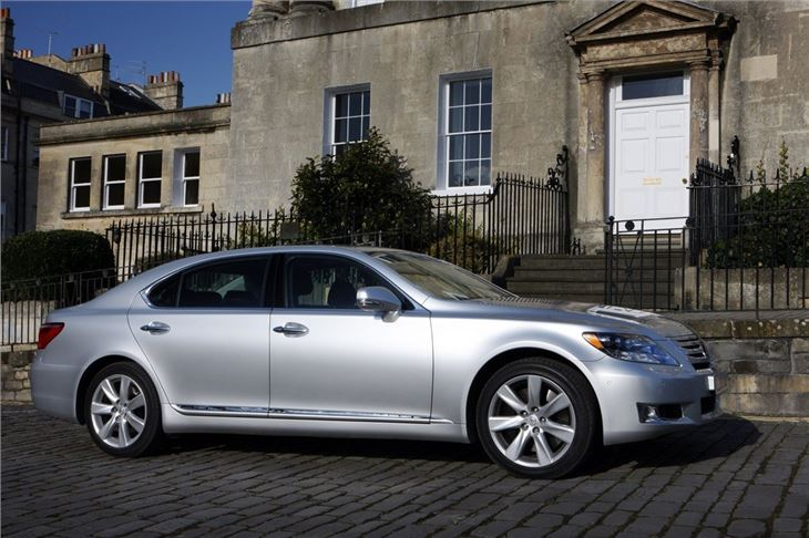 Lexus Ls 600h 2006 Car Review Honest John