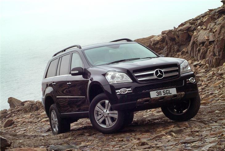 Mercedes Benz GL 320CDI and GL 420 420CDI Road Test