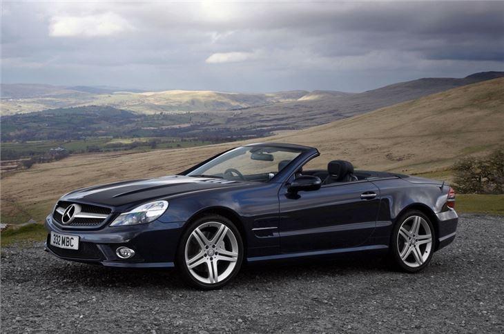 Mercedes sl 2010