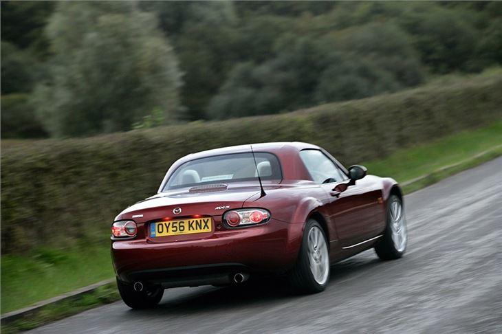 Mazda Mx 5 Roadster Coupe 2006 Car Review Honest John